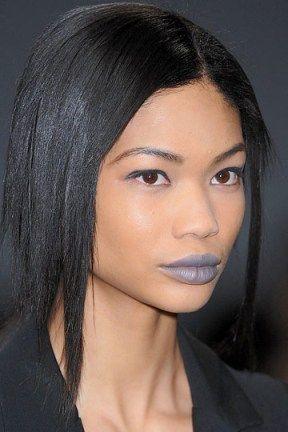 Blue lips: essa moda pega?