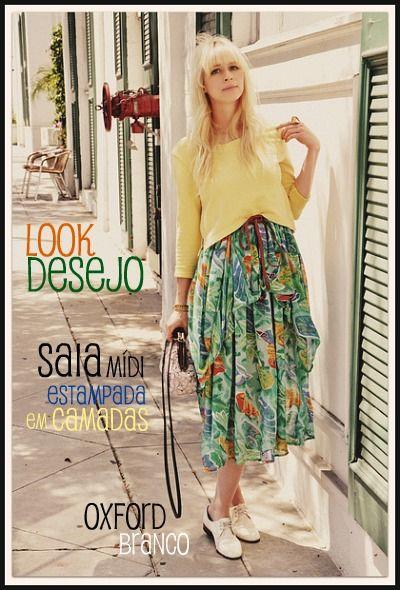 Look desejo do dia: go vintage