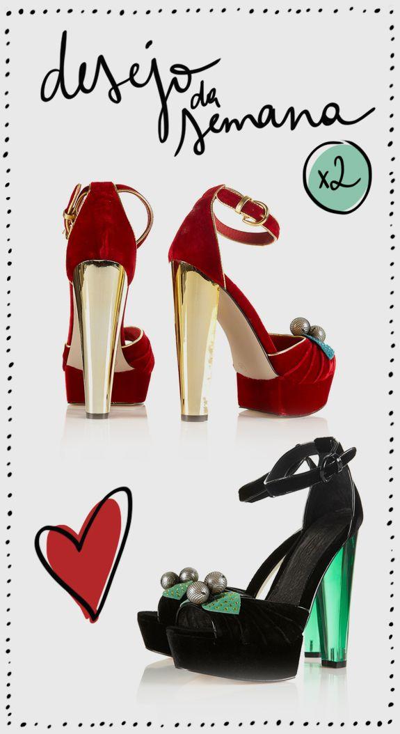 Desejo (duplo) da semana: sandálias Topshop
