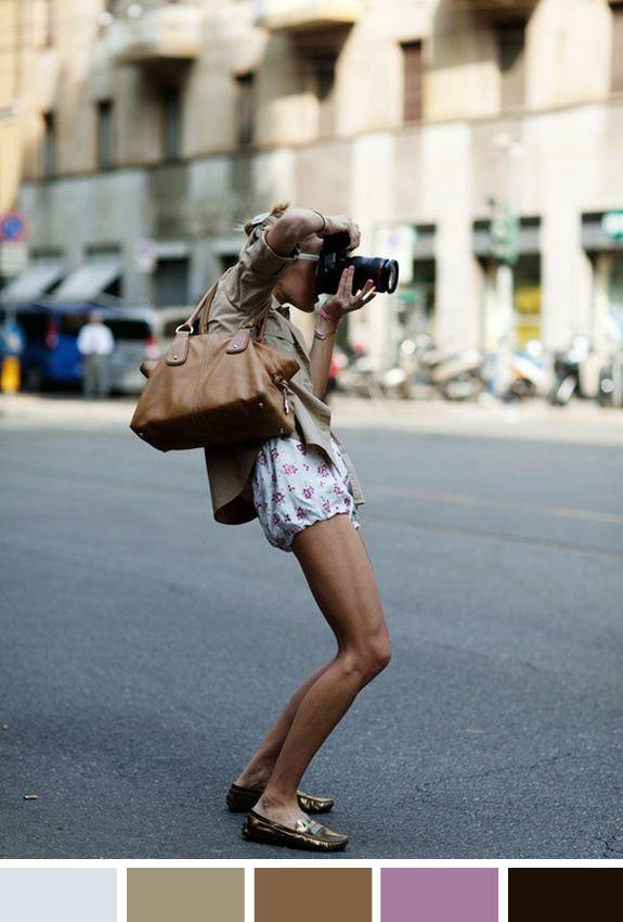 Inspiração do dia: fotos de street style