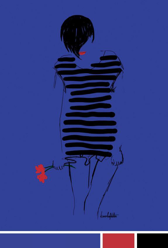 Inspiração do dia - ilustração Fashion