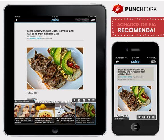 App para a vida: punchfork