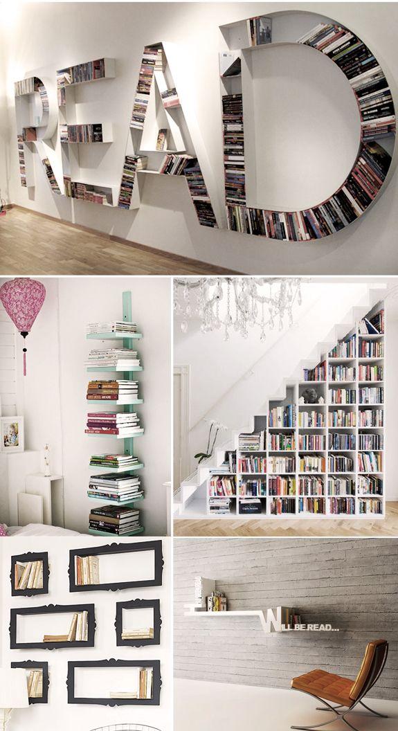 Ideias para organizar livros