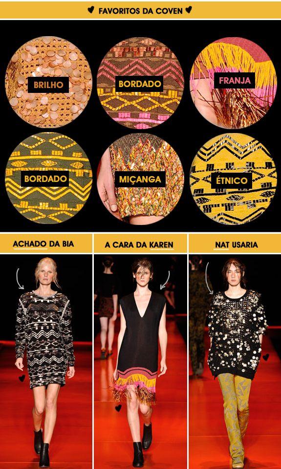Fashion Rio 2012 - inverno - Looks Coven
