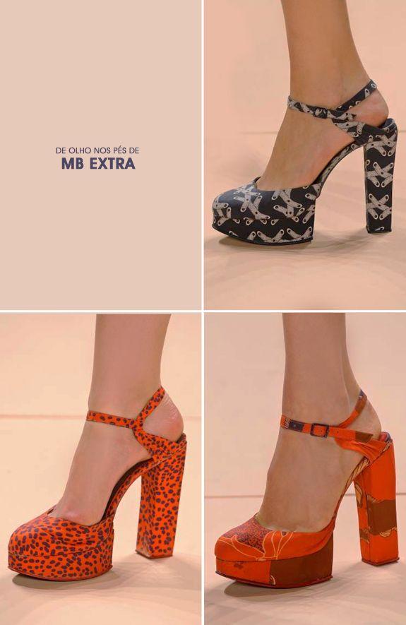 Sapatos Maria Bonita Extra - inverno 2012