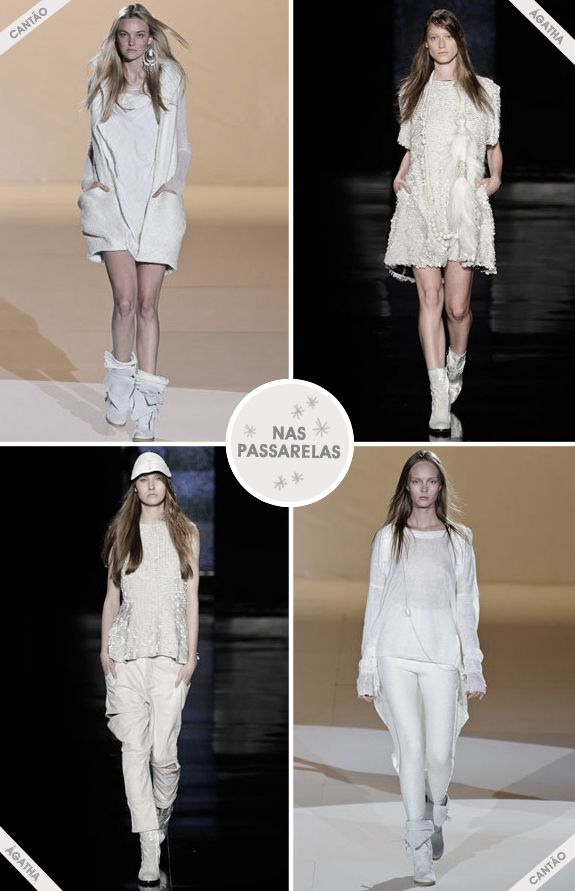 Look total white inverno 2012