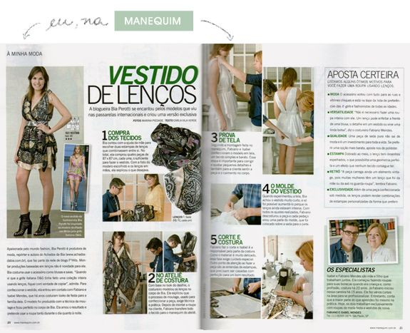 clipping revista manequim