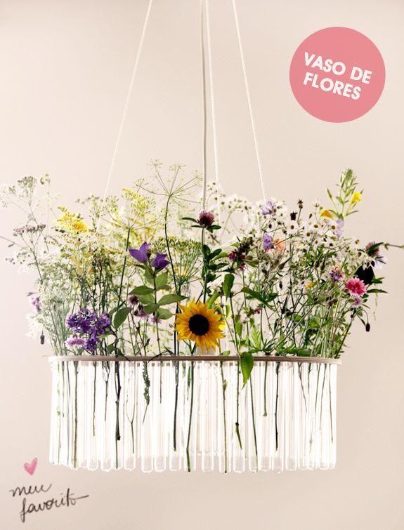 Decoração com Flores: vasos bagunçados