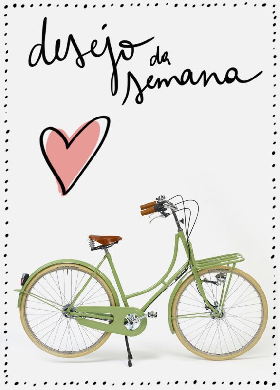 Bicicleta retrô - vintage