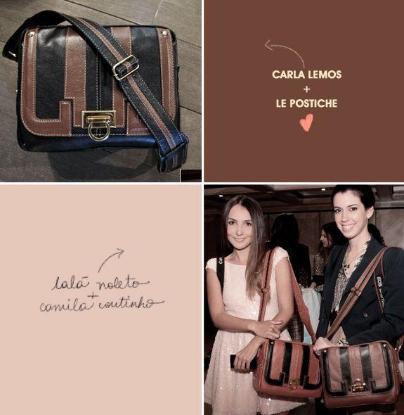 Diário de viagem Londres - bolsa Carla Lemos Le Postiche