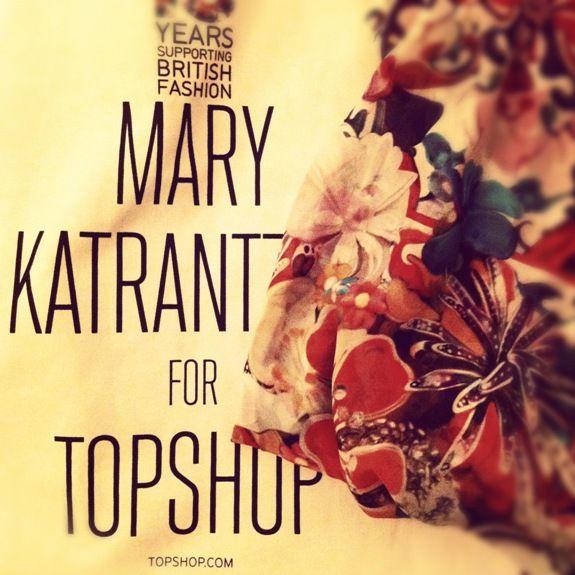 Achados em Londres Mary Katrantzou Topshop