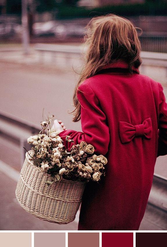 bordeuax, burgundy e flores secas