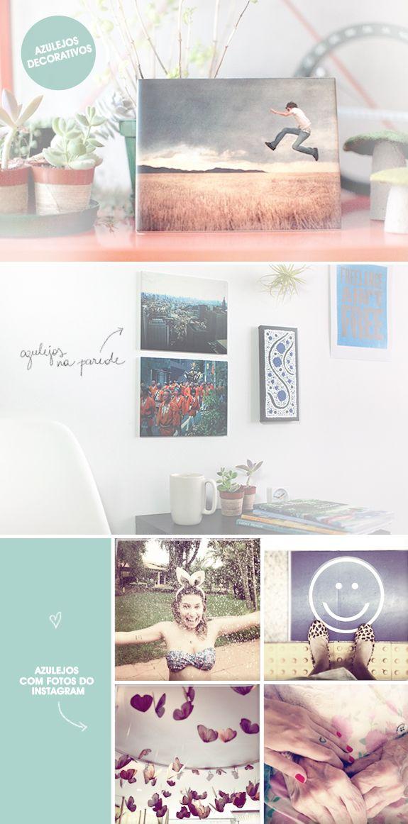 Site Imagesnap: fotos em azulejos