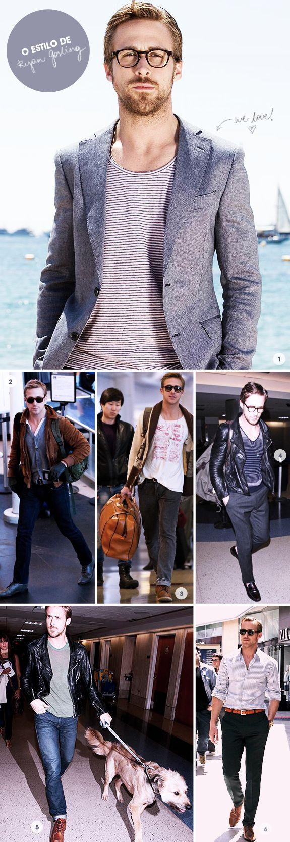 O Estilo de Ryan Gosling