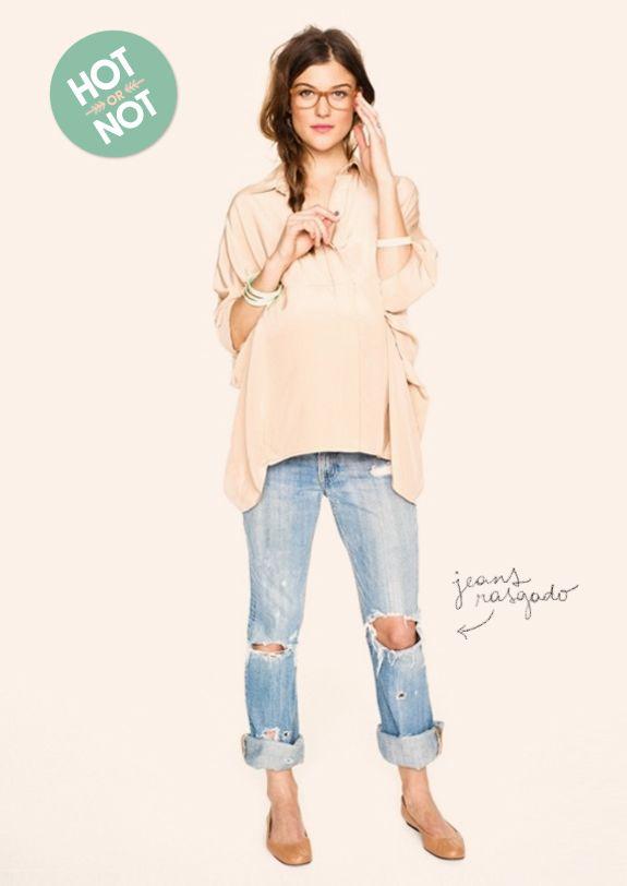 ripped jeans - jeans rasgado