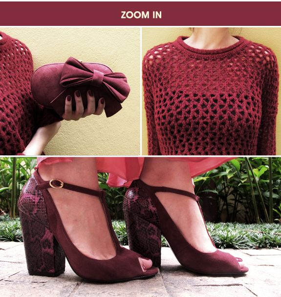 Look do dia: burgundy