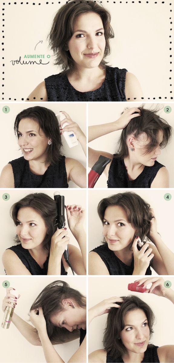 Tutorial de beleza: volume para cabelos finos