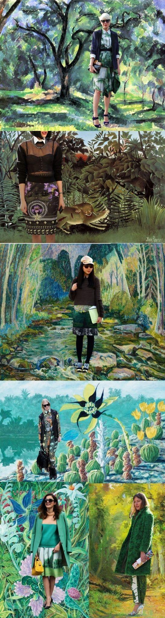 Moda e Arte: Street Style nas obras de arte