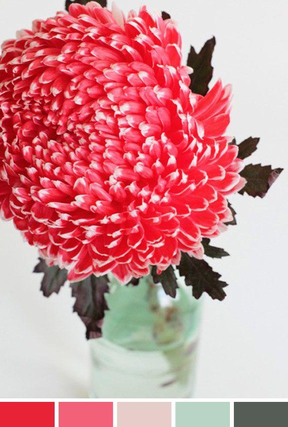 Inspiração do Dia: arranjo de flores