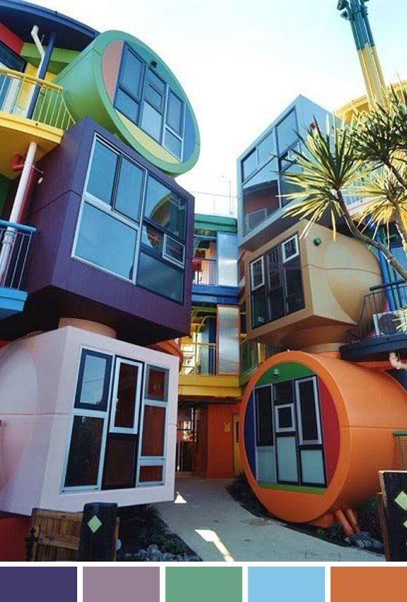 Inspiração do Dia: casas reversíveis no Japão