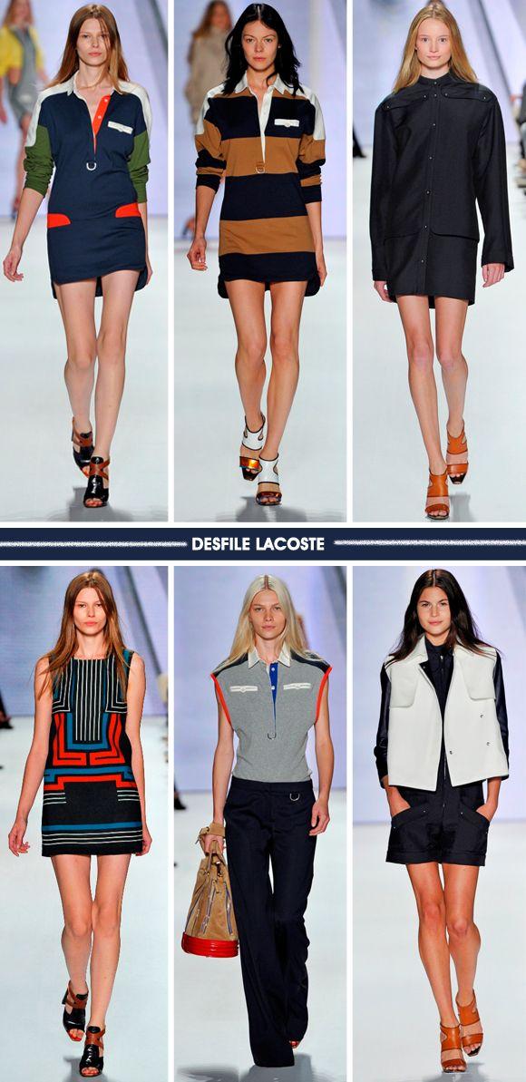 Viva o sportswear: coleção Lacoste SS 2012