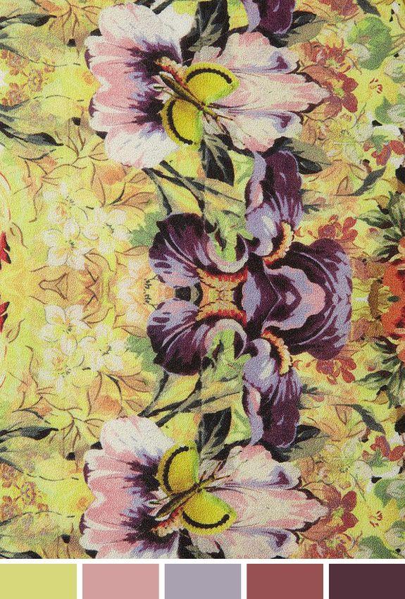 Inspiração do Dia: estampa floral topshop