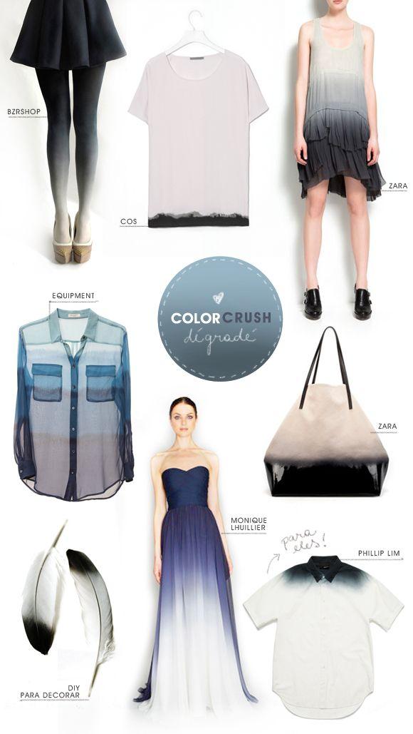 color crush: dégradé (selected items)
