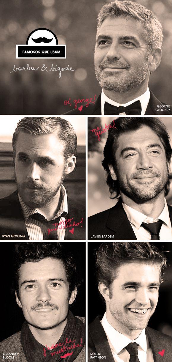 Estilo masculino: barba e bigode