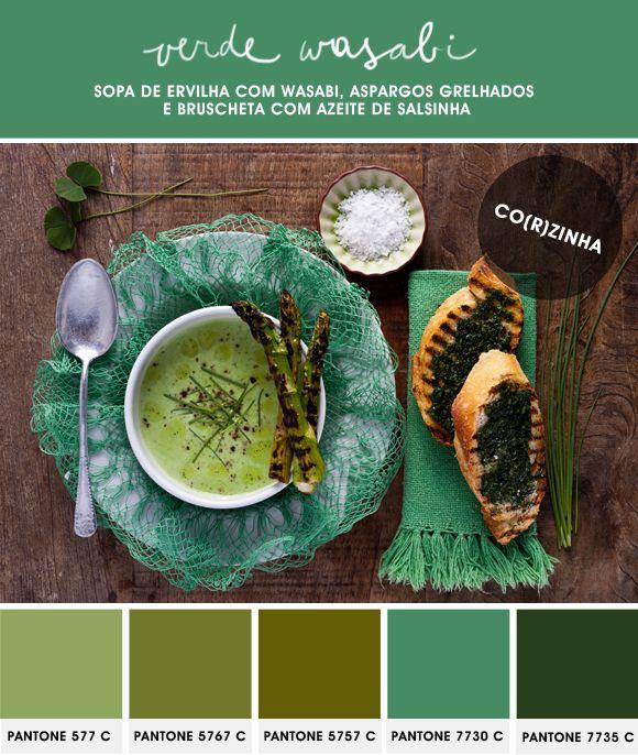 Co(r)zinha: cor na cozinha