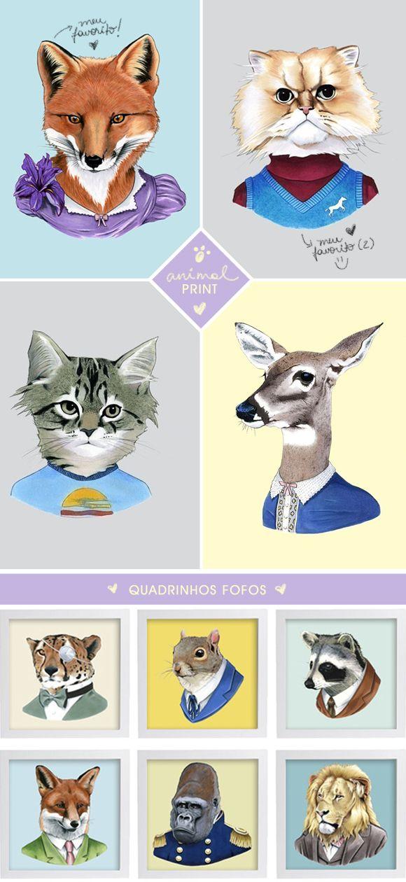 Ilustrações de animais da Berkley
