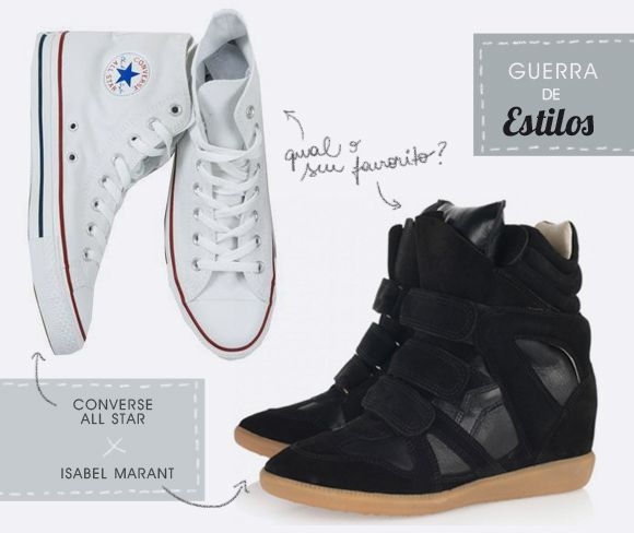 Guerra de estilos: all star ou isabel marant