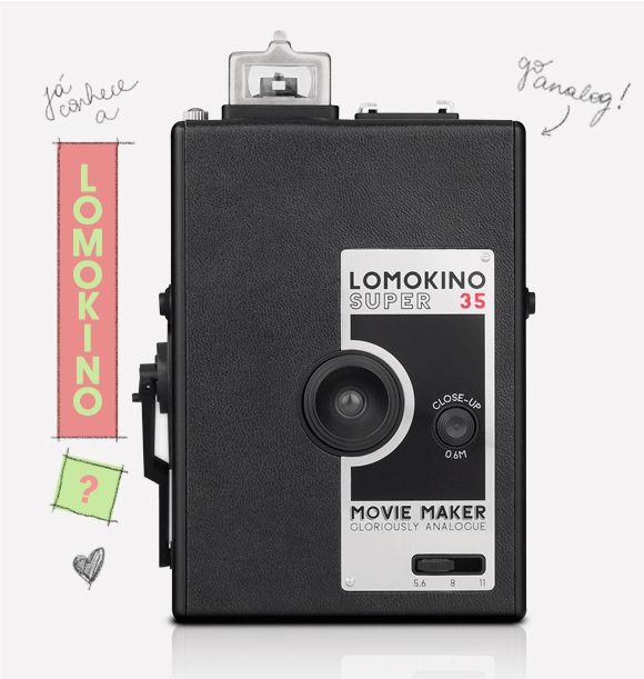 Lomokino: filmadora analogica