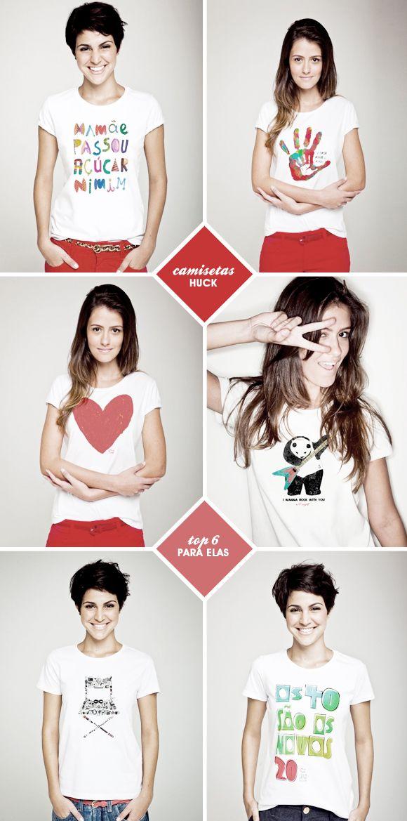 Camisetas Huck: dia dos namorados