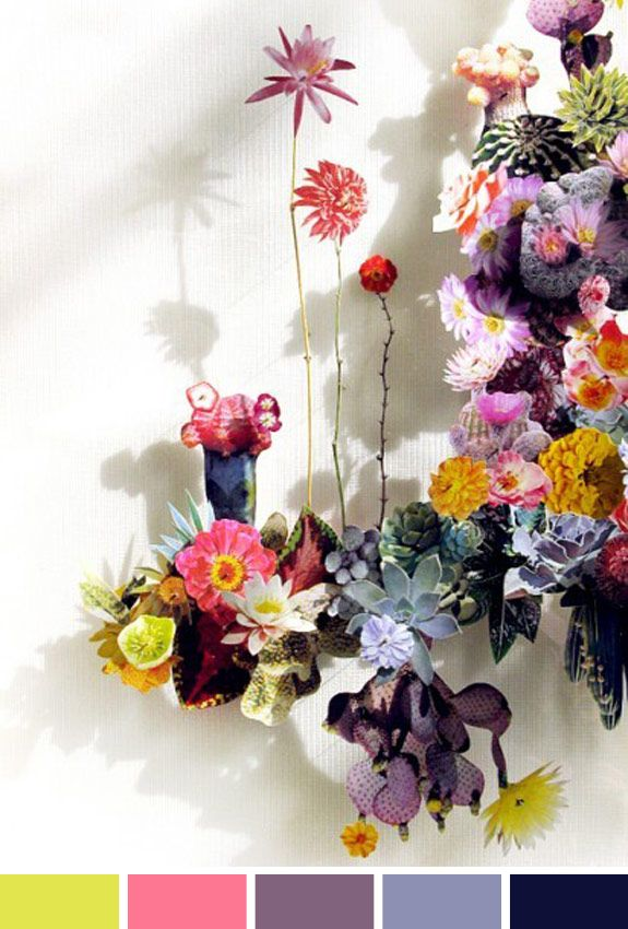 Inspiração do Dia: arranjo floral