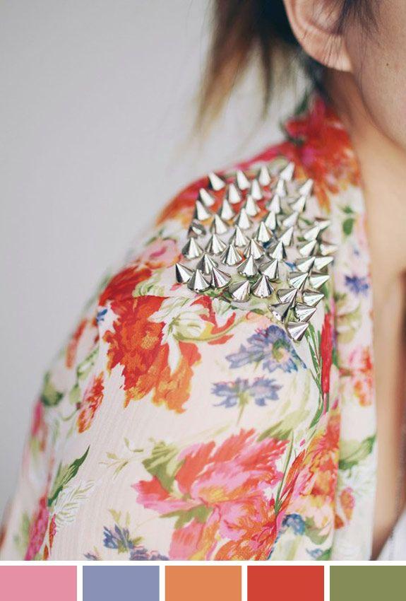 Inspiração do Dia: spikes e floral