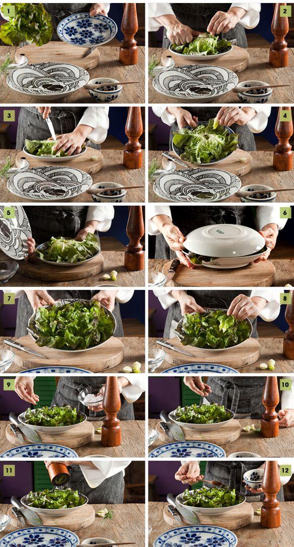 receita salada montada