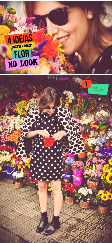 Poás P&B Flor Kate Spade
