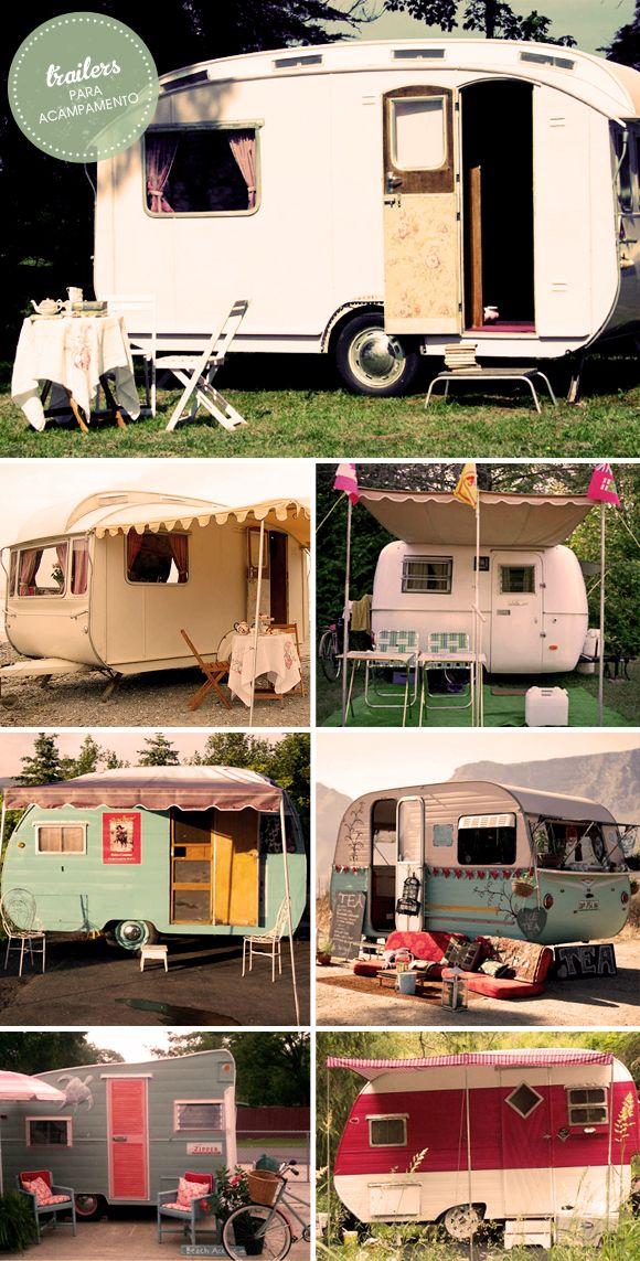Trailers de acampamento