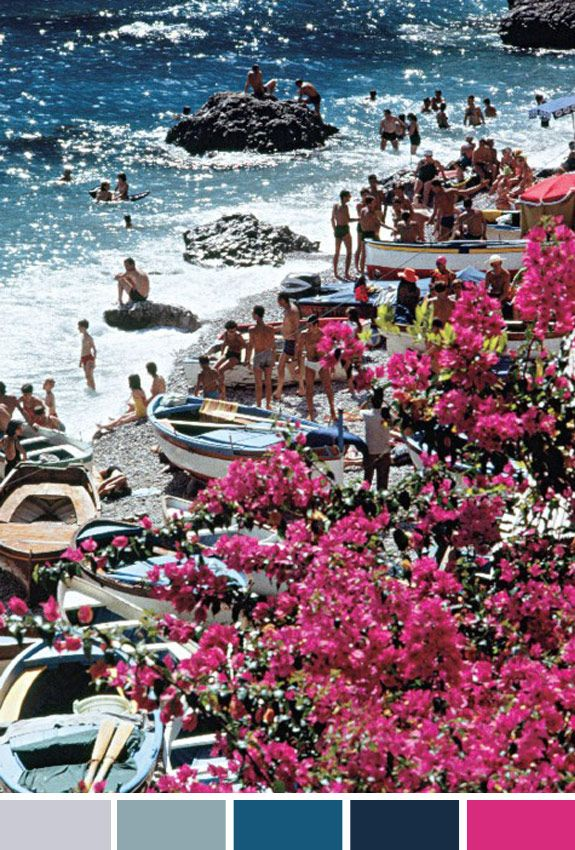 Inspiração do Dia: enquanto isso em Capri