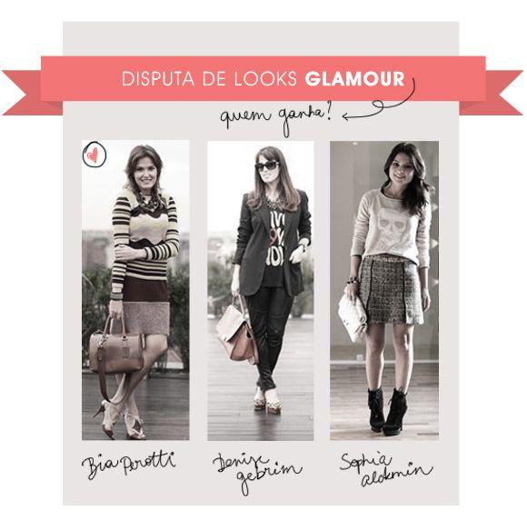 Batalha de looks Revista Glamour