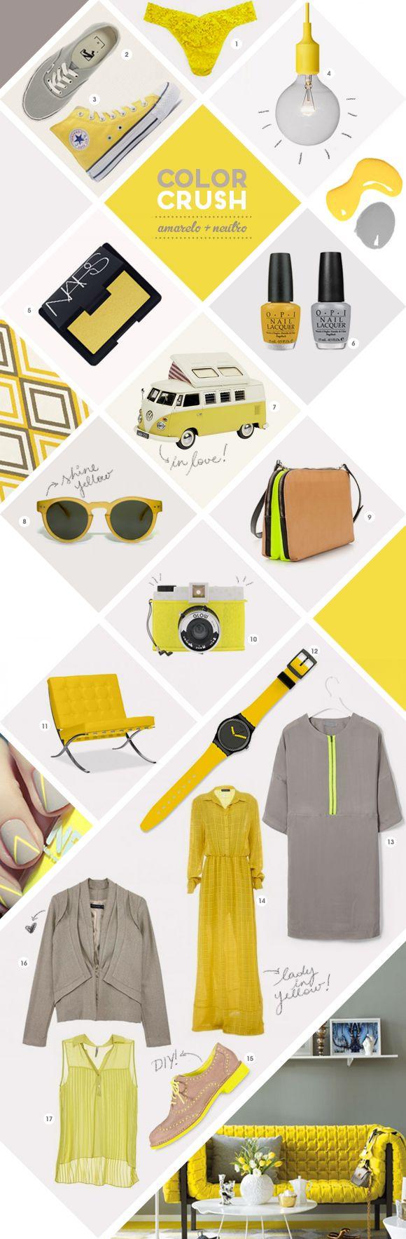 amarelo e neutro