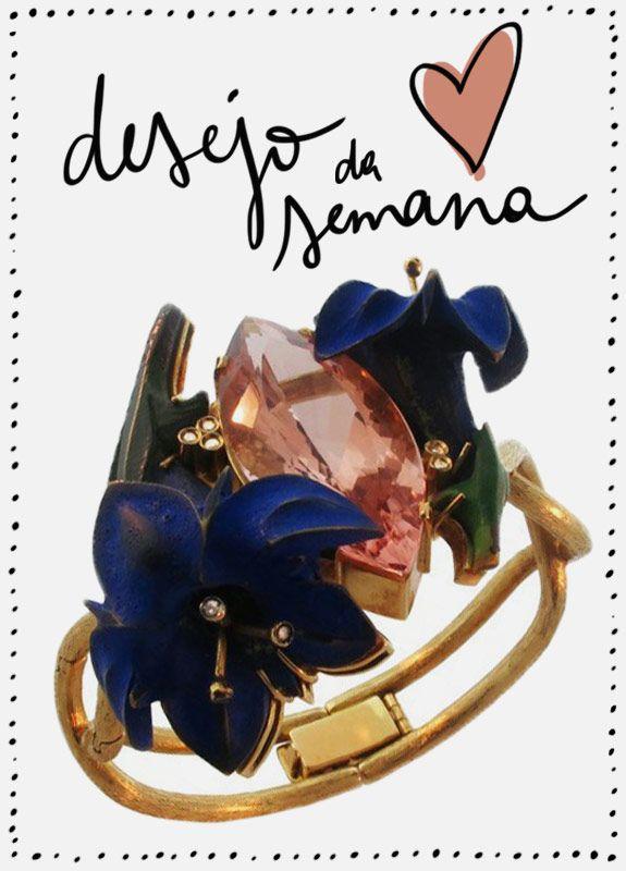 Desejo da semana: pulseira Silvia Furmanovich