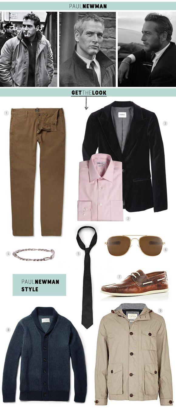Estilo Masculino: Paul Newman