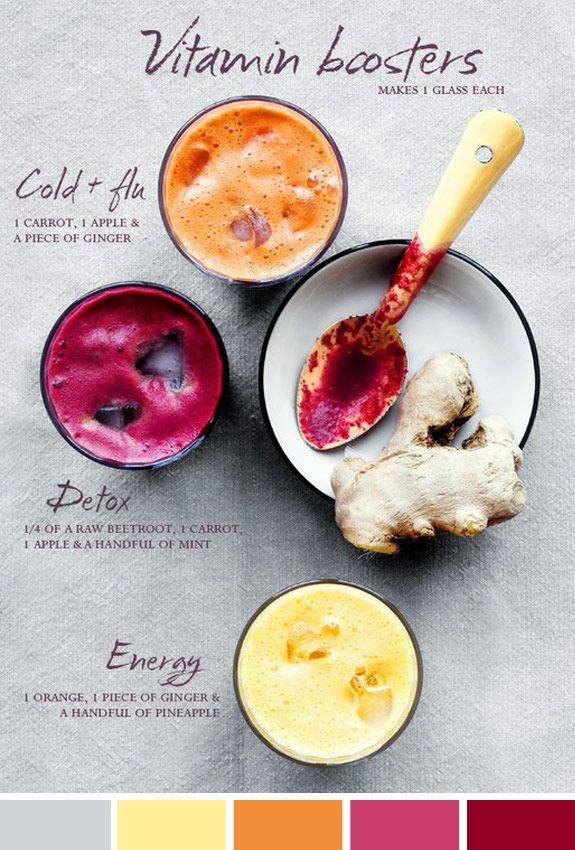 Inspiração do Dia: vitaminas