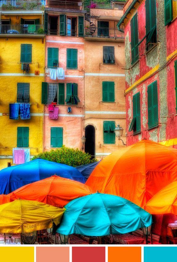 Inspiração do dia: Cinque Terre Itália