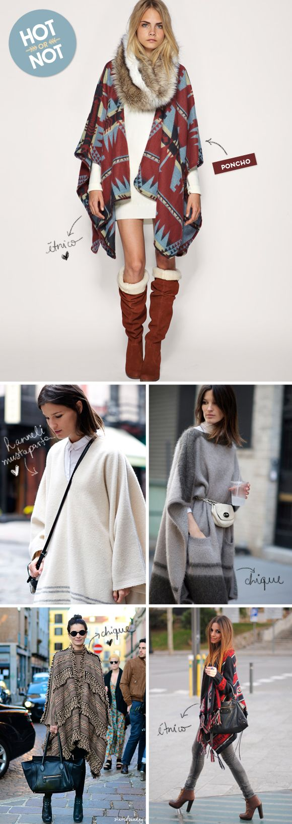 Hot or not: ponchos