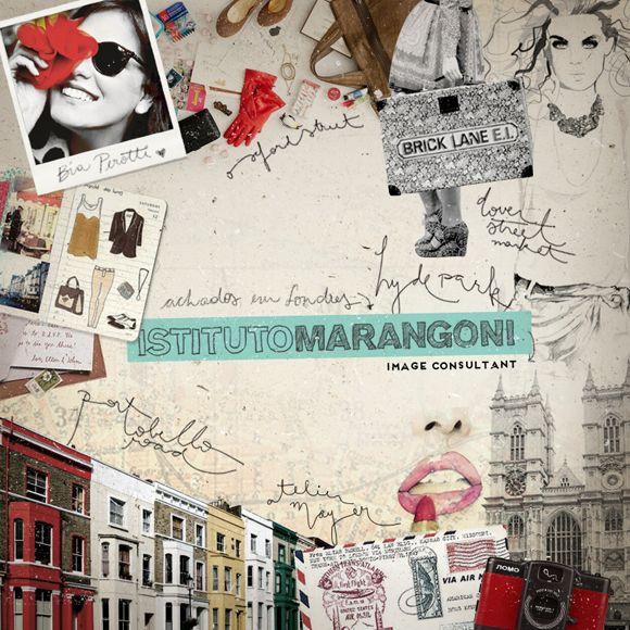 Moodboard: Image Consultant no Istituto Marangoni em Londres