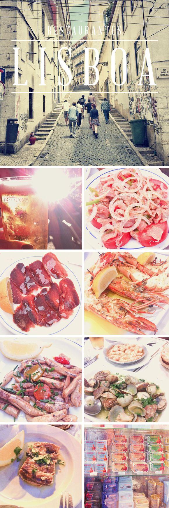 Restaurantes em Lisboa - por Olivia Cho