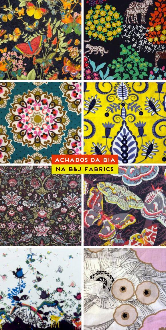 Achados da Bia - B&J Fabric
