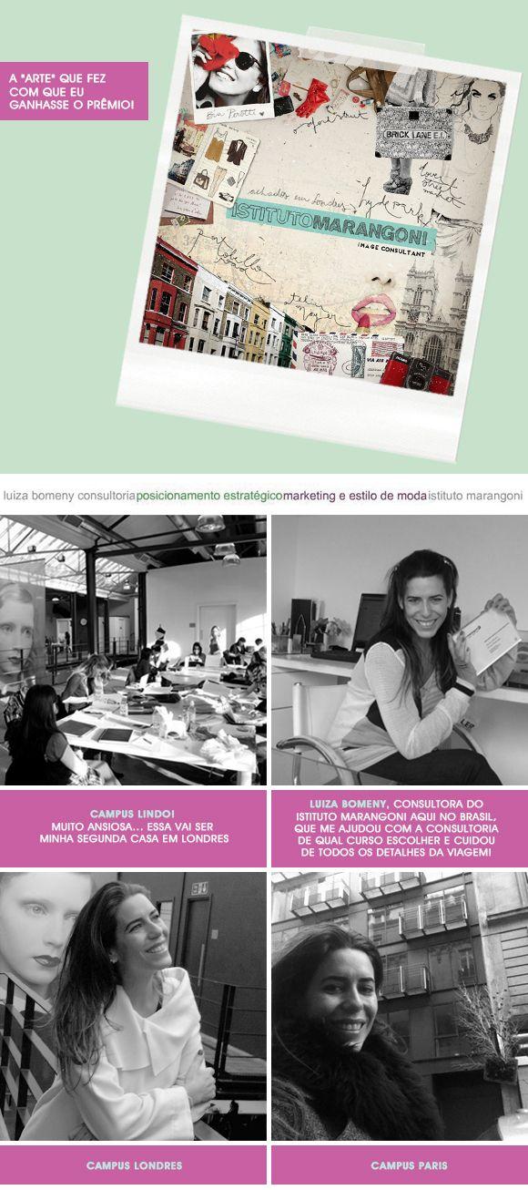 Istituto Marangoni com Luiza Bomeny e FHits